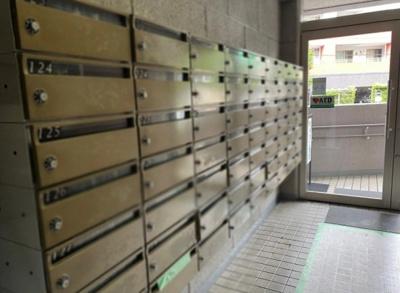 西葛西ビューハイツのメールボックスです。