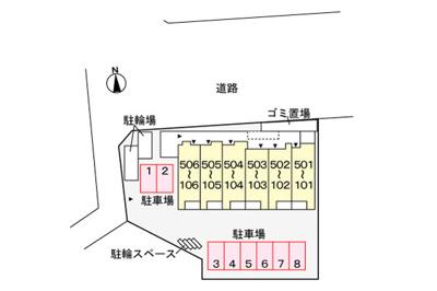 【区画図】タートルヒルズ 1st