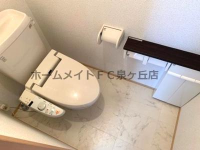 【トイレ】クローバーコート