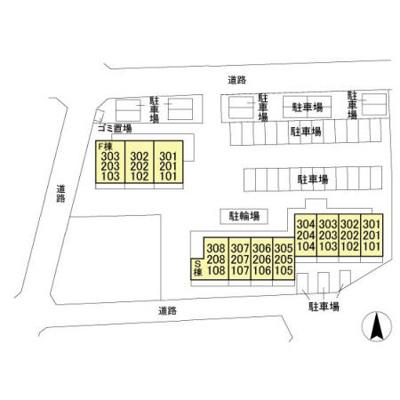 【区画図】ル・モンテスト S