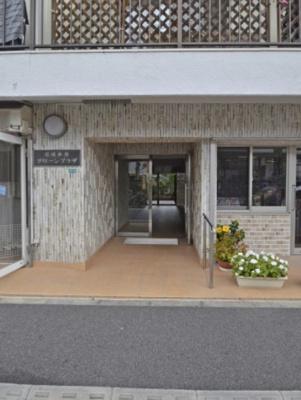 京成小岩グリーンプラザのエントランスです。