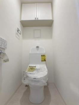 シーズガーデン瑞江のトイレです。