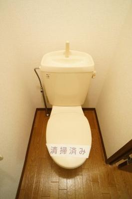 【トイレ】クレール東海神