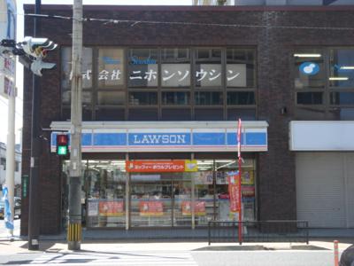 ローソン小倉北区白銀店まで252m