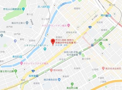 【地図】セザール伊勢佐木