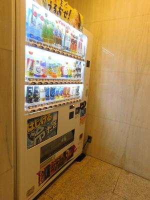 1階ホール 自販機
