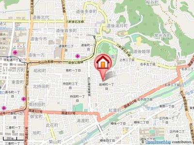 【地図】ピースフル岩崎