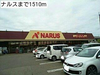 ナルスまで1510m
