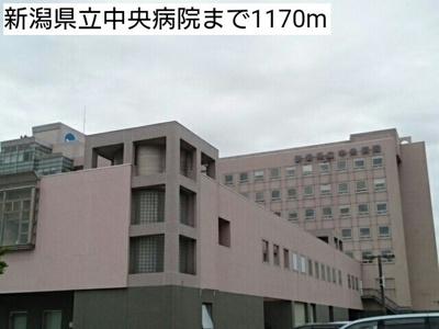 新潟県立中央病院まで1170m