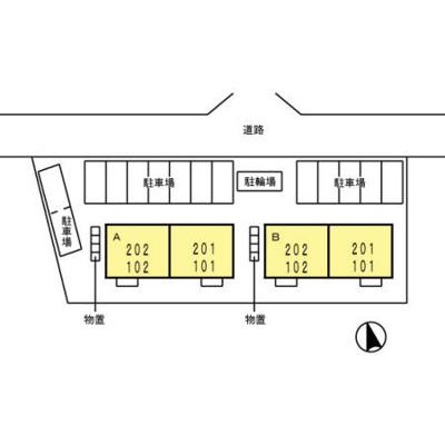 【区画図】セジュール室小路A