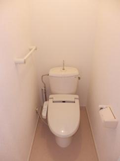 【トイレ】リバーホームA棟
