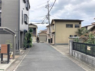 【前面道路含む現地写真】京都市山科区西野山階町