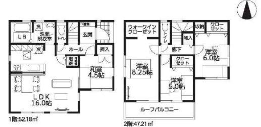 大和高田市西坊城20‐2期 新築(全4棟)2号棟