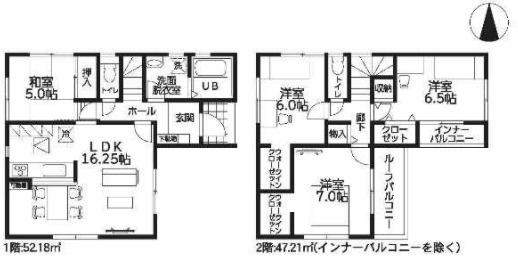 大和高田市西坊城20‐2期 新築(全4棟)3号棟