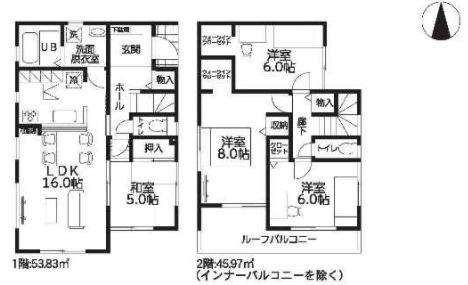 大和高田市西坊城20‐2期 新築(全4棟)4号棟