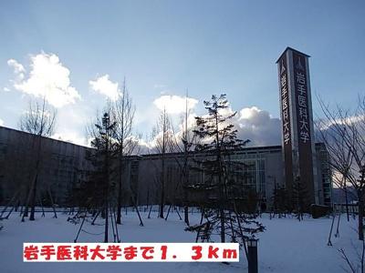 岩手医科大学まで1300m