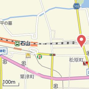 【地図】リバーサイド桂