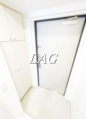 玄関です。