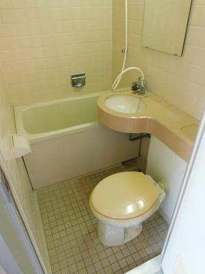 【浴室】サンライン岐阜コーポ