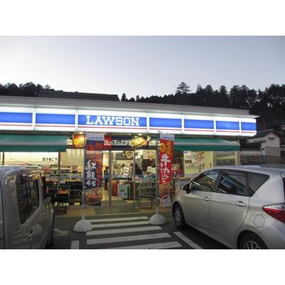 コンビニ「ローソン飯田八幡町店まで222m」