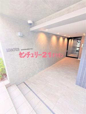 【エントランス】KNOTS桜台Sta.(ノッツサクラダイステーション)
