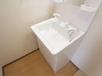 【洗面所】レインボーハイツ