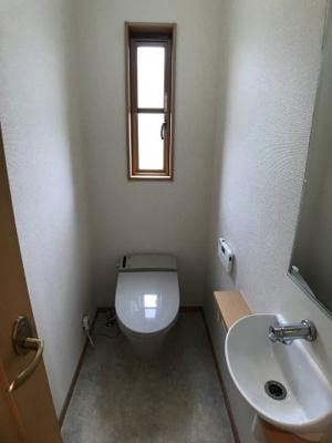 【トイレ】つくば市山中 中古戸建