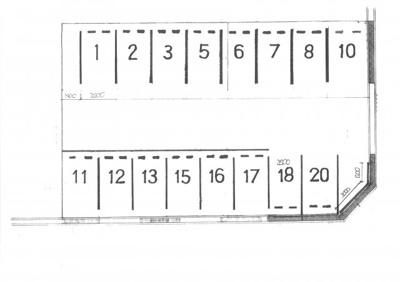 【区画図】鵜の森1丁目駐車場I