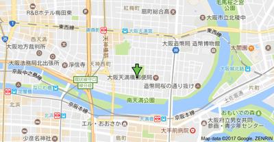 【地図】エムズ・ストリーム