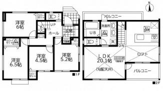 【間取り】茅ヶ崎市松浪2丁目 新築戸建 全3棟1号棟