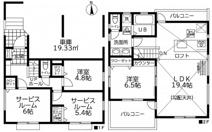 茅ヶ崎市松浪2丁目 新築戸建 全3棟2号棟の画像