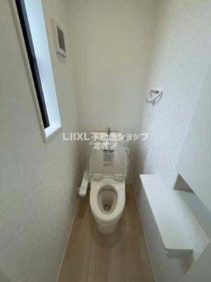 【トイレ】羽生市西5丁目 新築一戸建て全1棟