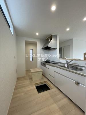 【キッチン】羽生市西5丁目 新築一戸建て全1棟