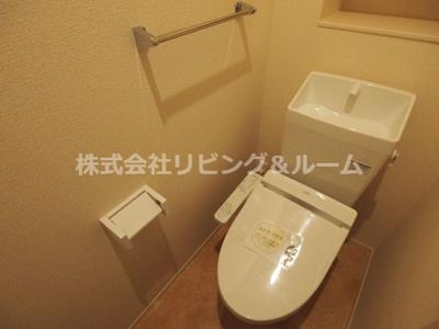 【トイレ】ラ・ドルチェヴィータ A棟