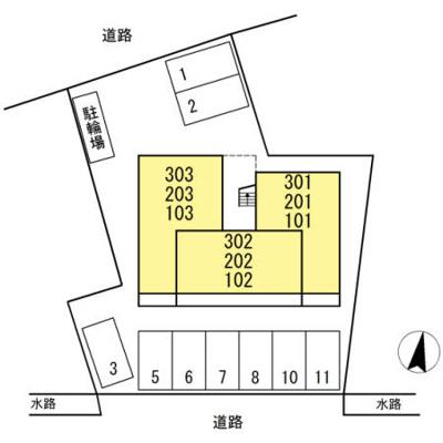 【区画図】グランドール天神Ⅱ