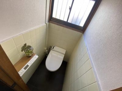 ■シャワー付きトイレです