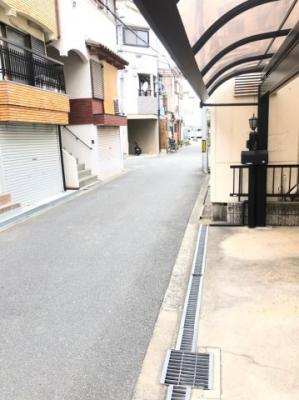 【前面道路含む現地写真】大阪市城東区今福南2丁目 中古戸建