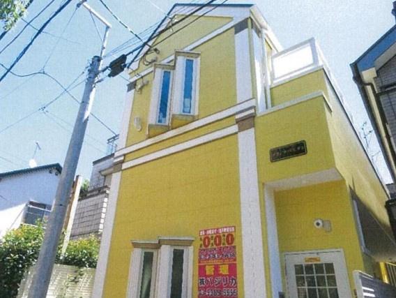 【外観】杉並区成田東3丁目の一棟売りアパート