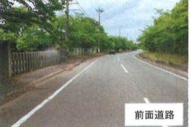 【前面道路含む現地写真】行方市芹沢 工業専用地域 売地