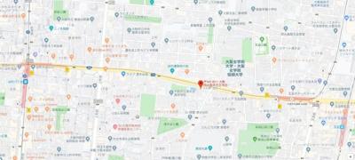 【地図】ベルビュー7番館
