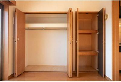 ゆとりある収納スペース(同一仕様)