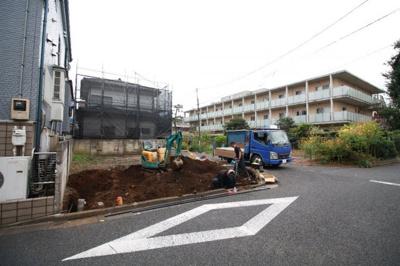 【外観】練馬区南大泉2丁目 新築一戸建 西武新宿線 武蔵関