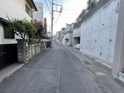 【前面道路含む現地写真】入間市下藤沢 全2棟 B号棟
