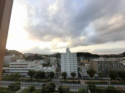 9階部分からの眺望です。