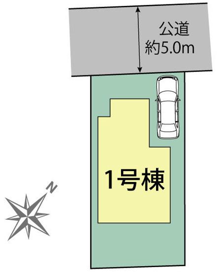 【区画図】国分寺市内藤2丁目 新築戸建て