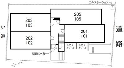 【駐車場】セシボン35(富山市五福)