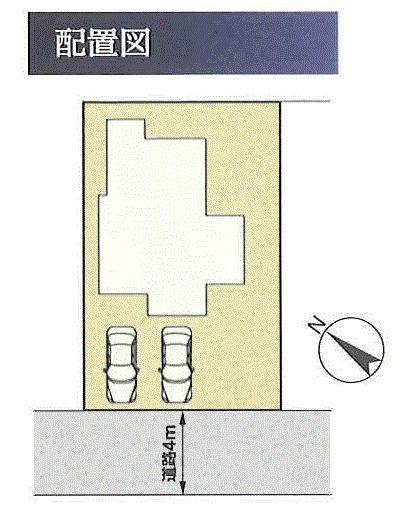 【区画図】昭島市拝島町4丁目 中古戸建