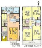 名古屋市中村区名楽町2丁目110−15 【仲介手数料無料】新築一戸建ての画像