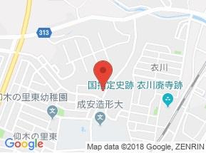 【地図】グランシャリオA棟