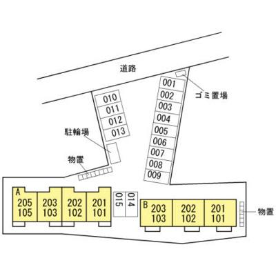 【区画図】ナスガA